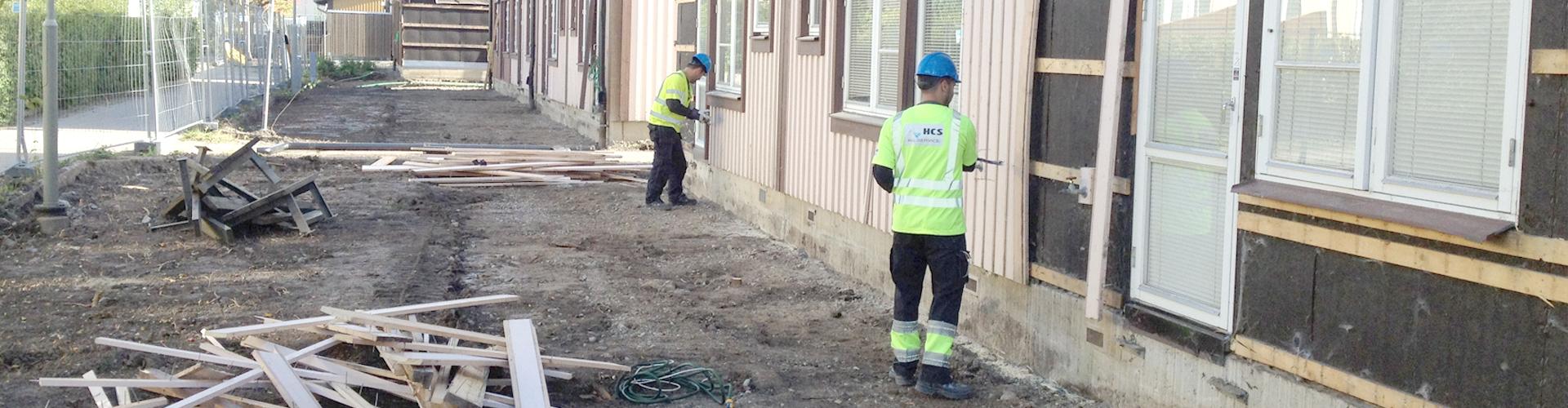Specialister på byggstädning